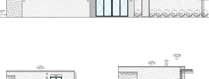 Neubau Einfamilienhaus in Meerbusch Rohbau Fundament Erdarbeiten Naßmacher Bauunternehmung